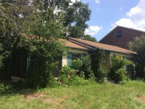 Sell dated rental property to a South Tampa Builder