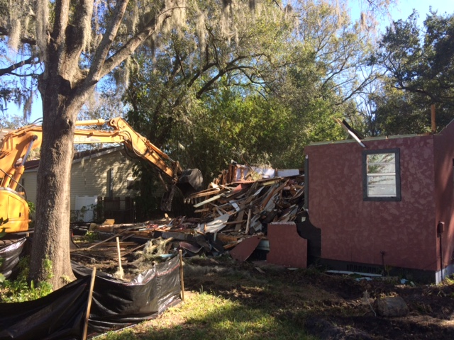 Demolition Day – South of Gandy