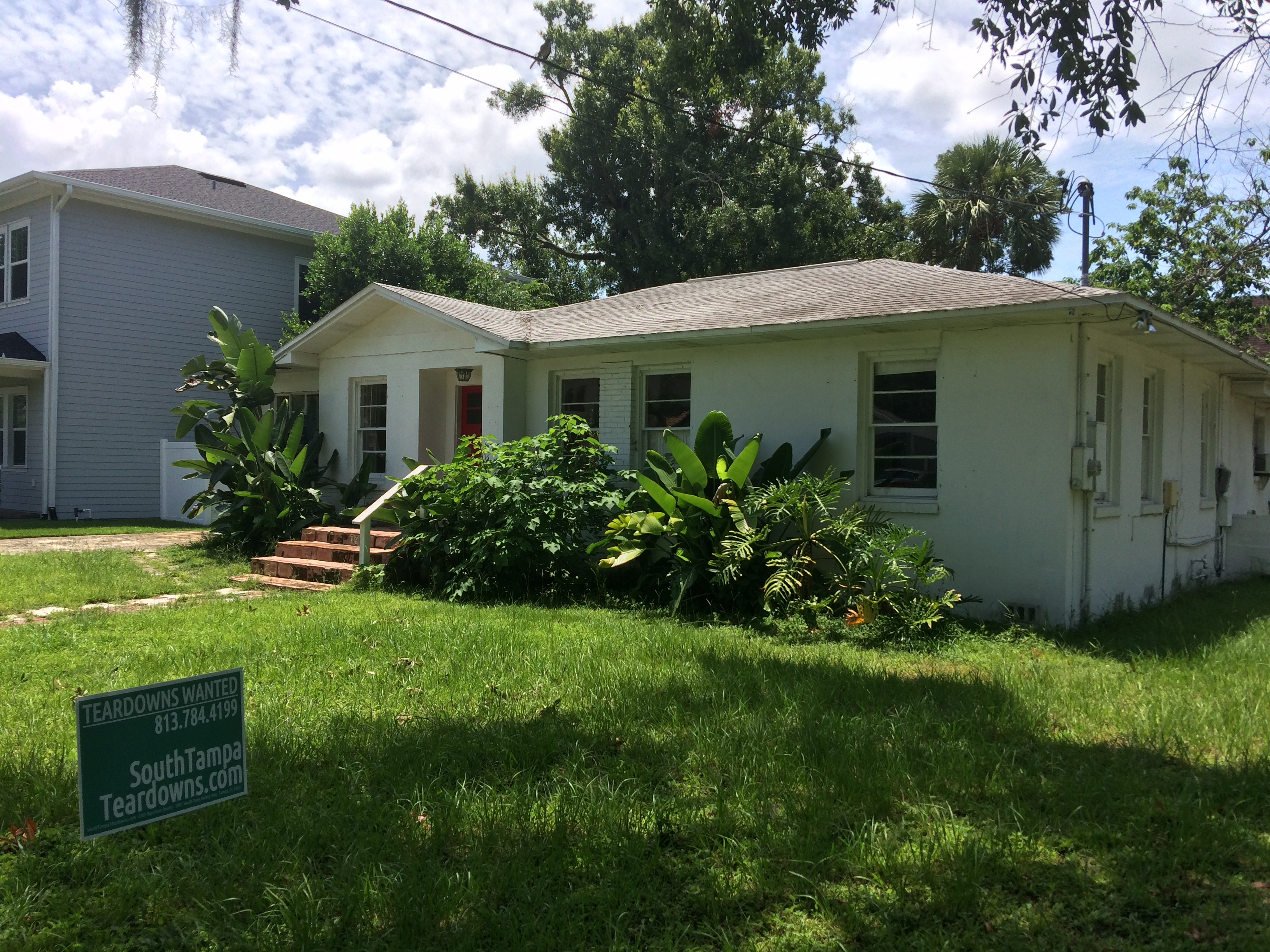Listed on Zillow… Now Sold to a South Tampa Builder!